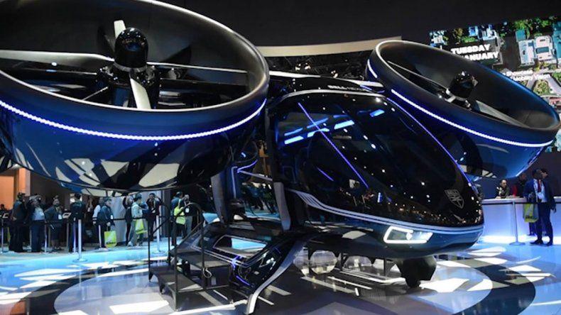 Presentan el primer prototipo del año de un auto volador
