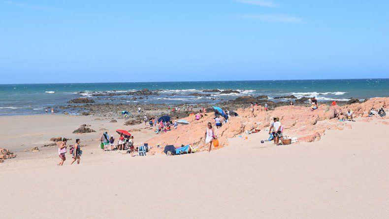 Piedras Coloradas, algo más que playas extensas