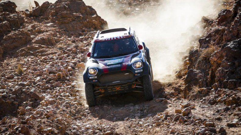 Orlando Terranova es el nuevo líder en el Dakar 2020