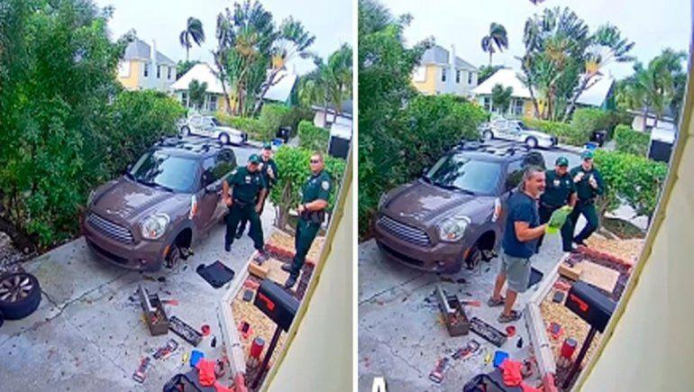 La Policía creyó que pedían ayuda pero era un loro