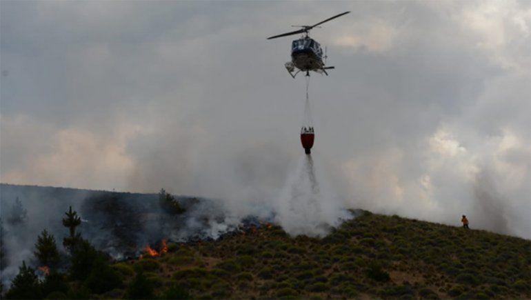 Advierten alto riesgo de incendio forestal en la cordillera
