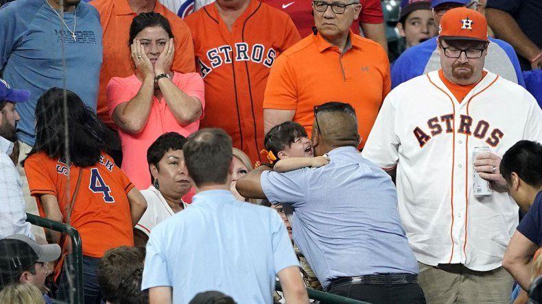 Nena de 2 años sufrió daños irreversibles en un partido de béisbol