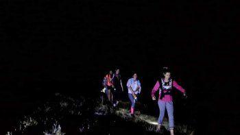 trekking nocturno para disfrutar las estrellas del norte