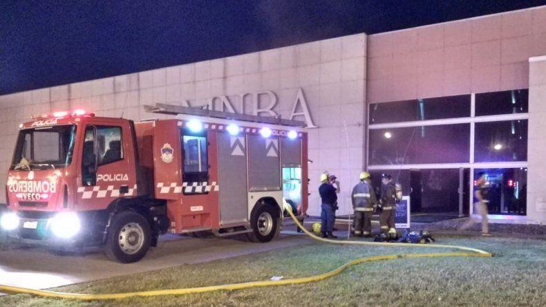 Bomberos apagaron un principio de incendio en el MNBA