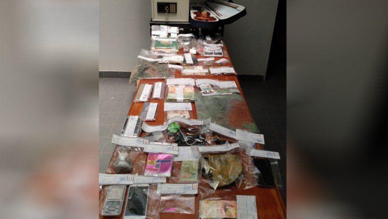 Pareja narco vip abastecía de drogas a kioscos desde un barrio privado