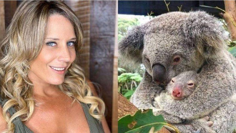 Rocío Marengo: de El baile del Koala a ¿quedar detenida en Australia por querer llevarse uno?