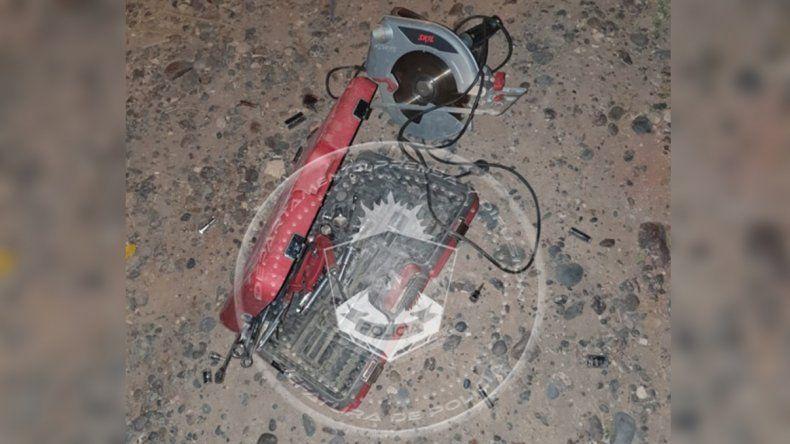 Violentaron la puerta de una casa de Cuenca XVI y se llevaron las herramientas