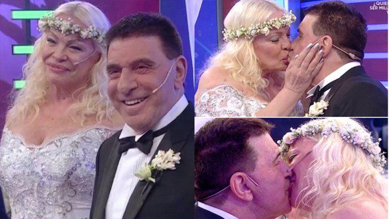 El bizarro casamiento de Jacobo Winograd y Silvia Süller en el programa de Lizy
