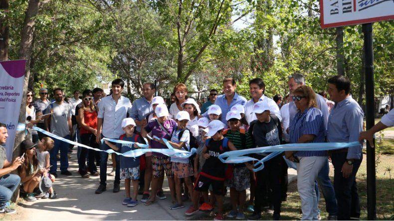 Gaido puso en marchas las colonias municipales en Rincón de Emilio
