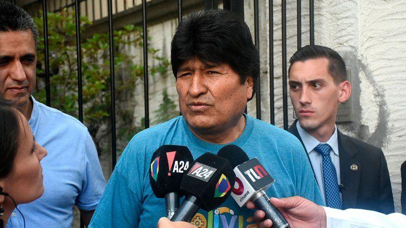 Evo Morales dejó la Argentina y viajó a Cuba