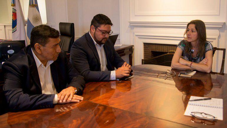 Rioseco se reunió con la Ministra de Seguridad de Nación