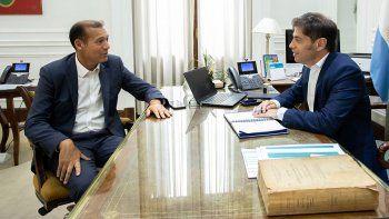 gutierrez se reunio con ministros y con el gobernador de buenos aires