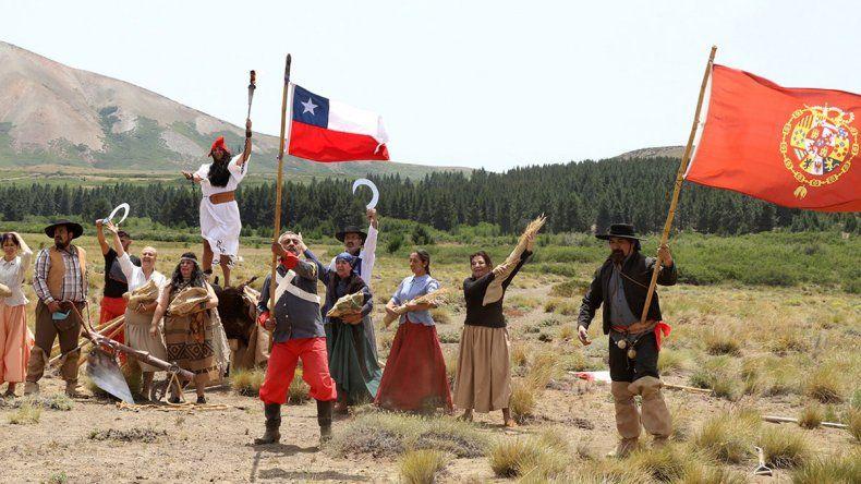 Recordaron la última batalla contra los Pincheira