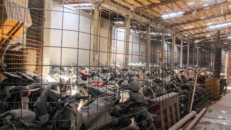 La Muni apura la donación de las motos del depósito
