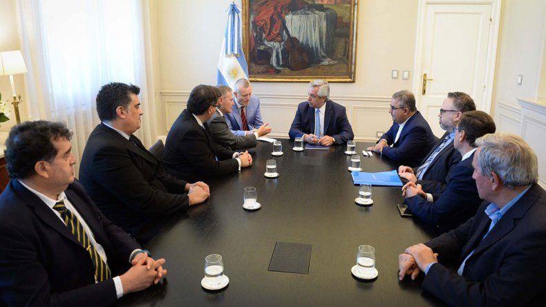 El presidente Alberto Fernández recibió a los gobernadores de Catamarca y San Juan