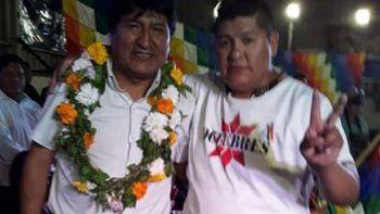 la comunidad boliviana del valle negocia traer a evo a centenario