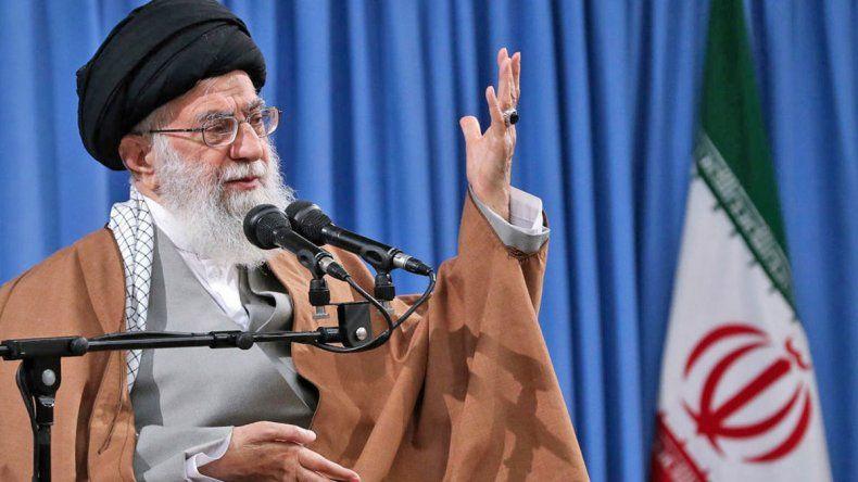 El líder de Irán mantuvo la tensión con Donald Trump