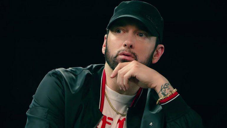Eminem rapea al ritmo de Ámame Peteribí de Spinetta