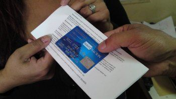 la tarjeta alimentar llegara a mas de 16 mil familias
