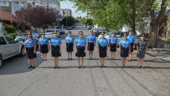 las mujeres policias asumen nuevos desafios: son cargos que anhelabamos