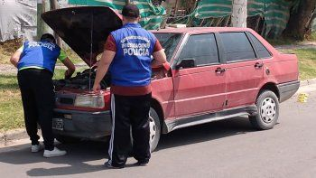 recuperaron un auto robado y demoraron al conductor