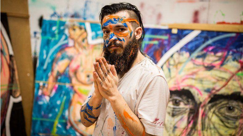 Blas García en la Semana de la Moda en Berlín