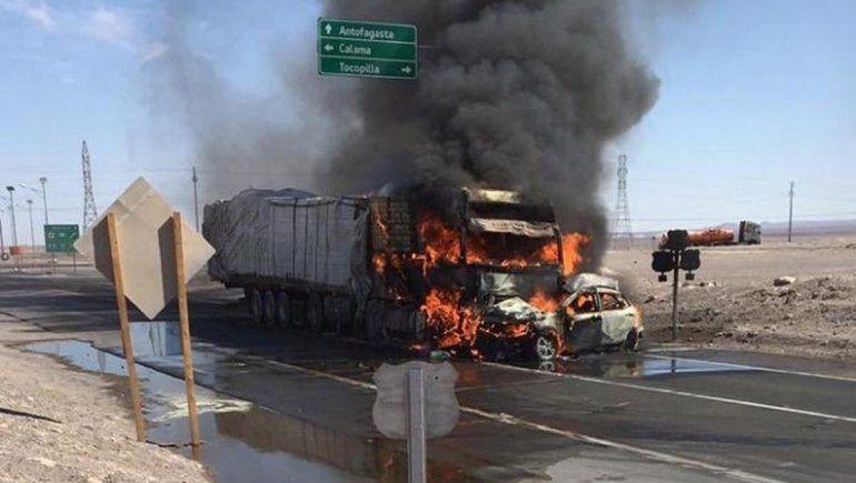 Una familia argentina muere en un terrible accidente en Chile