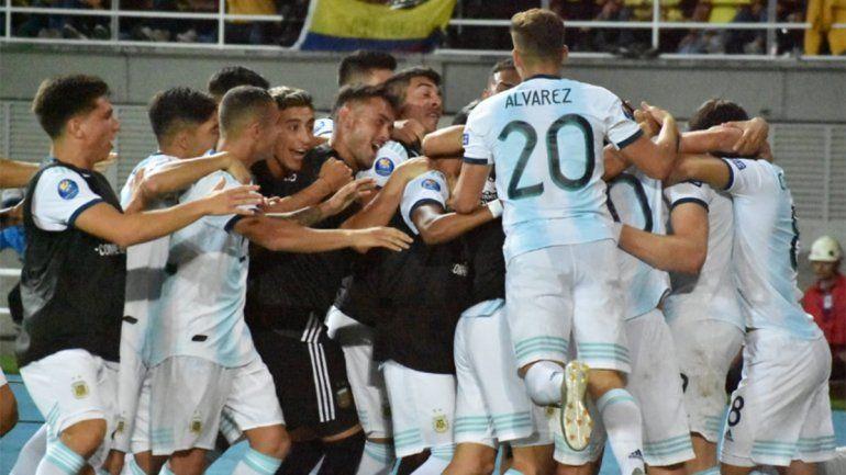 La Selección Sub 23 debutó en el Preolímpico con una victoria