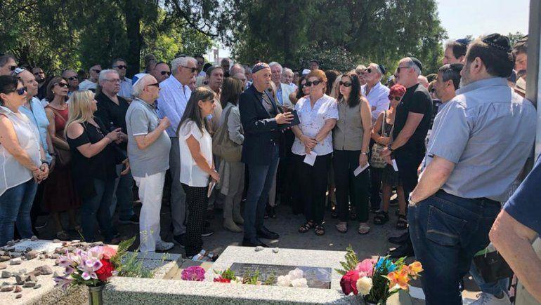 En una ceremonia íntima, recordaron a Alberto Nisman
