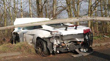 el milagro de sergio romero: salio ileso de un tremendo accidente