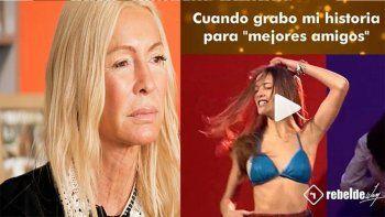 cris morena genero polemica al publicar un video de luisana lopilato haciendo un striptease