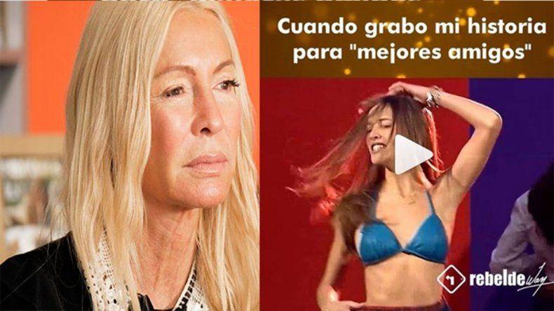 Cris Morena generó polémica al publicar un video de Luisana Lopilato haciendo un striptease
