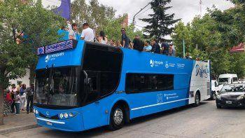 desde el jueves se podra recorrer la ciudad en un bus turistico