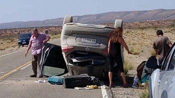 un muerto por el vuelco de una camioneta