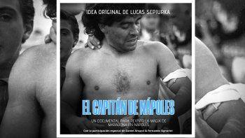 el capitan de napoles, el nuevo documental que muestra la locura por diego en su tierra prometida