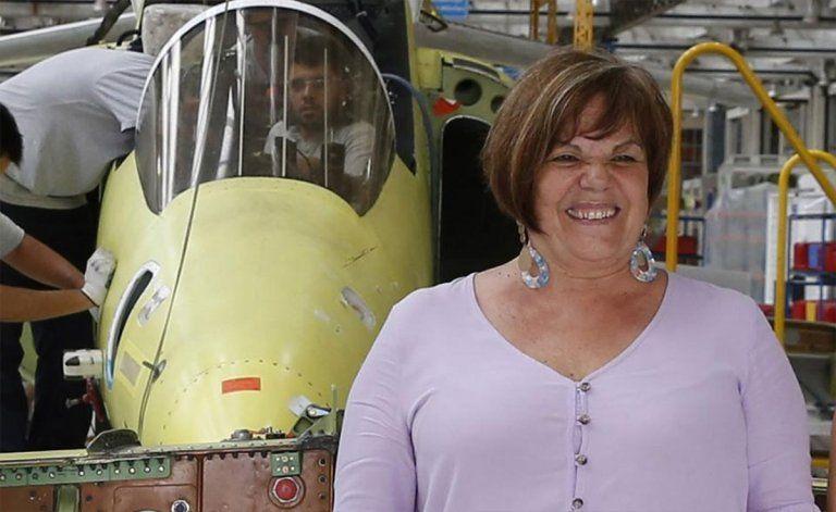 Mirta Iriondo, la mujer que presidirá la Fábrica Argentina de aviones Brigadier San Martín SA