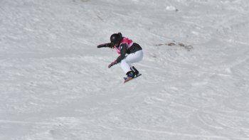 con 15 anos, momo poggi es finalista olimpica