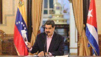 venezuela: maduro pidio reformatear el vinculo con cuba