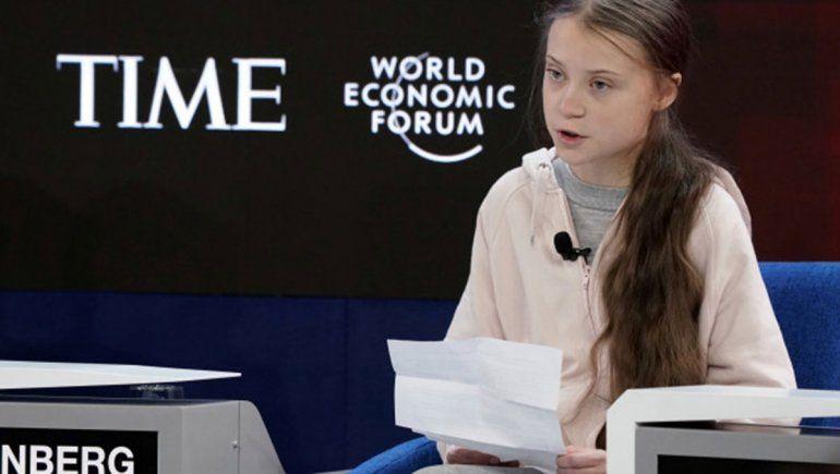 Cruce con Greta Thunberg por el cambio climático