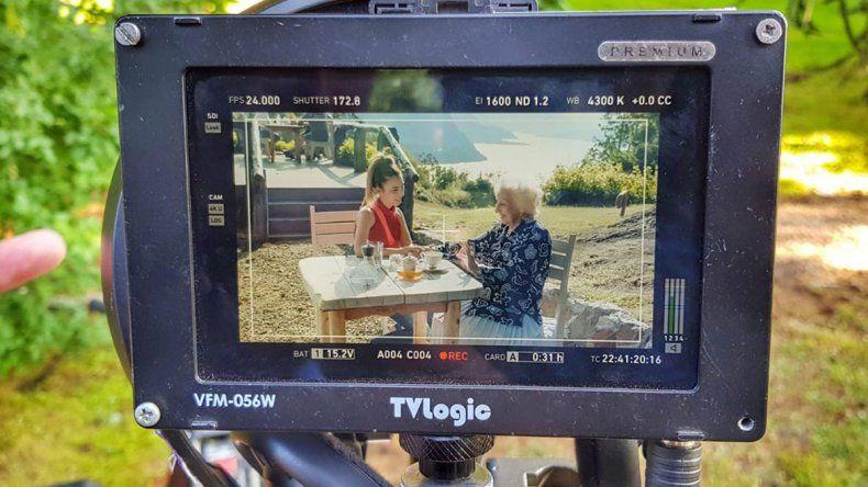Finalizan en San Martín parte del documental de Estela de Carlotto