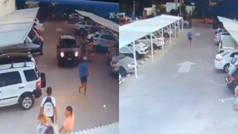 Intentó robar mercadería en un súper y terminó enfrentándose con un policía
