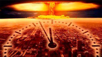 el reloj del juicio final se acerca mas que nunca del apocalipsis
