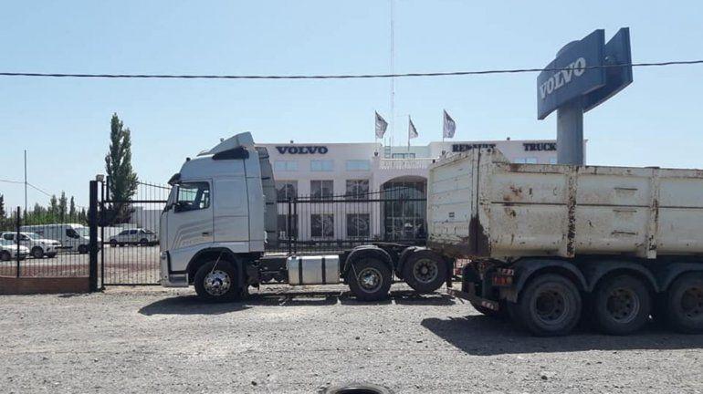La camionera neuquina que se atrincheró llegó a un acuerdo con la concesionaria