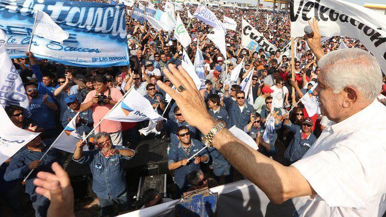 Pereyra se lanzó a otra reelección al frente del sindicato