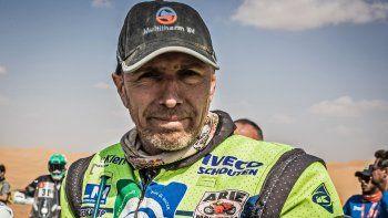 murio edwin straver, el piloto holandes accidentado en el dakar 2020