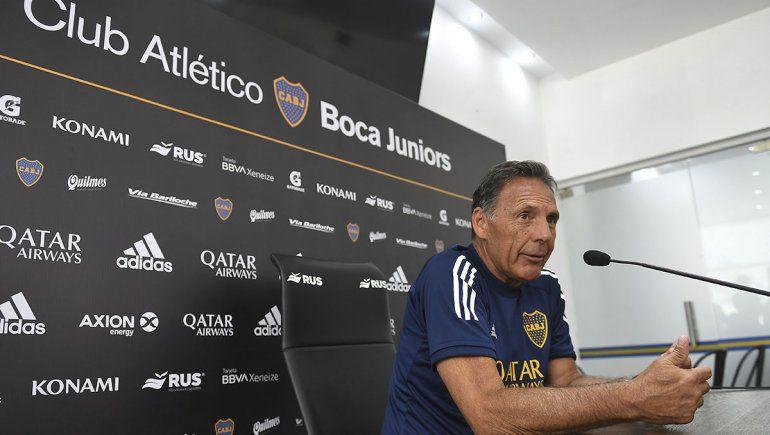 Russo confirmó que Andrada no estará en el reinicio de la Superliga
