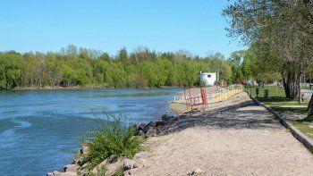 el caudal del rio limay aumento 25 centimetros