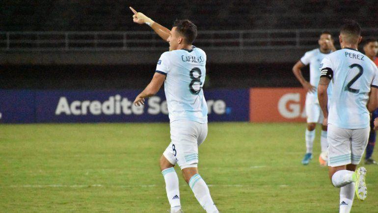 El Sub-23 venció a Chile y consiguió su segundo triunfo en el Preolímpico