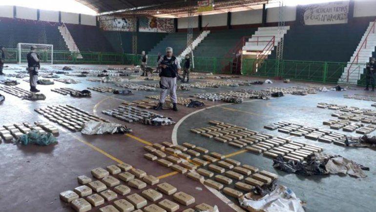 Prefectura secuestró casi dos toneladas de marihuana