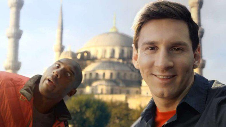 Kobe, un fanático del fútbol y de Messi: dos anécdotas imperdibles